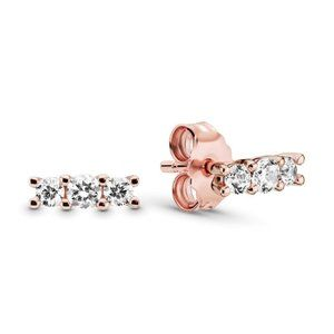Pandora Limited Edition Floating Grains Earrings